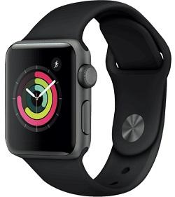 Apple Watch Series 3 Smartwatch 38mm Space Gray