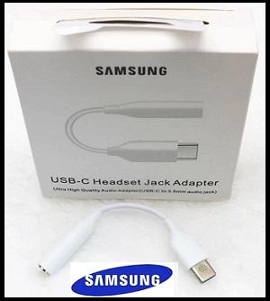Samsung USB-C Headset Jack Adapter