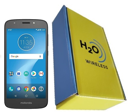 Motorola e5 Play 16GB with H2O SIM Card