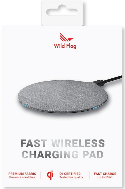 WildFlag 15W Fast Wireless Charger