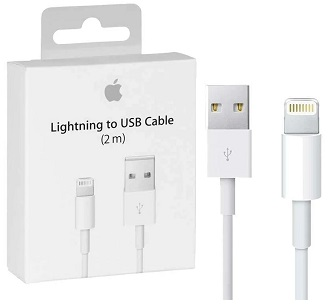 Apple OEM Lighting-USB Cable Retail Package - 2m - New