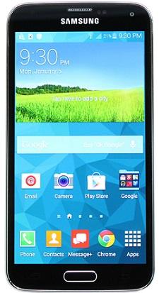 Samsung G900v 16GB S5 Black