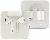 OEM Apple 7/8 Earpods White w/ Adapter - OEM