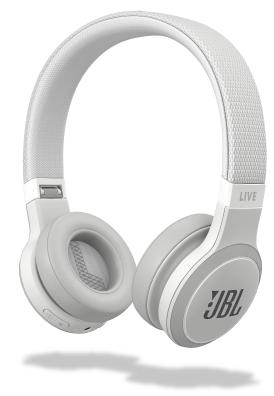JBL Live 400BT On-Ear Bluetooth Headphones White New