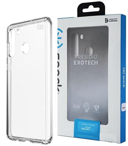 Speck Presidio Case for Samsung A21 - Clear
