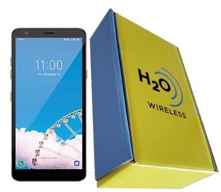 LG Prime 2 16GB with H2O SIM Card