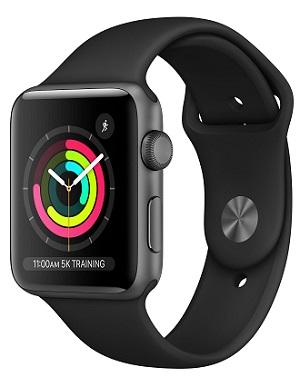 Apple Watch Series 3 GPS (38mm) Black
