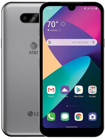 LG Phoenix 5 16GB Silver Unlocked CPO