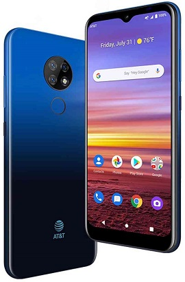AT&T Radiant Max 32GB Blue   CPO