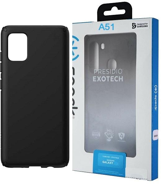 Speck Presidio Case for Samsung A51 LTE - Black