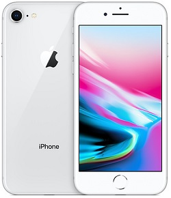 iPhone 8 256GB GSM Silver A Stock