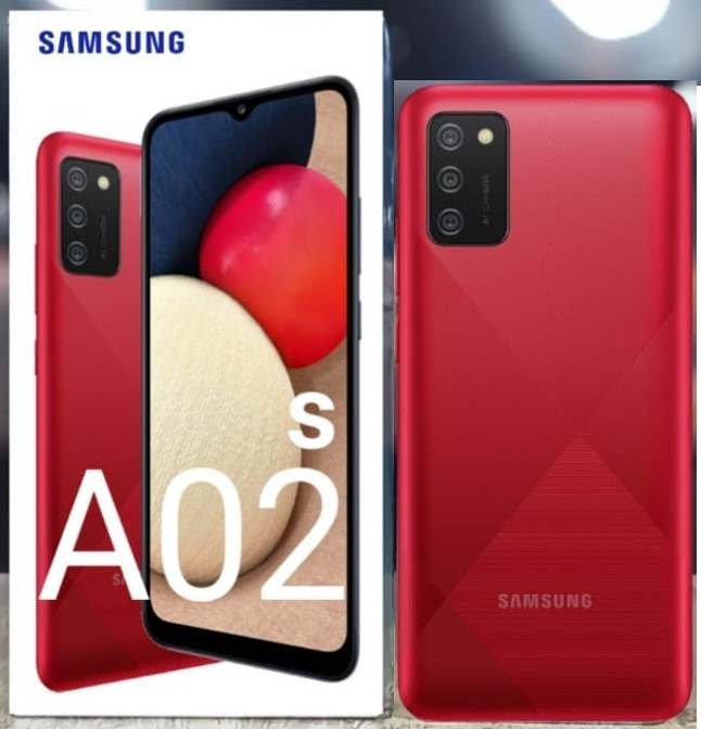 Samsung A02s|A02mds 32GB Red New