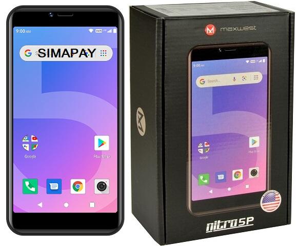 Maxwest Nitro 5P LTE Silver New