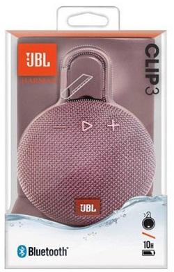 Speaker JBL Clip3 Portable Speaker Pink