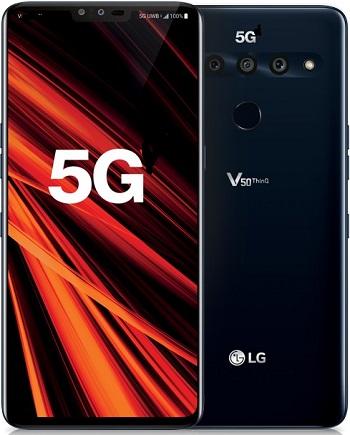 LG V50 5G ThinkQ 128GB Blue New