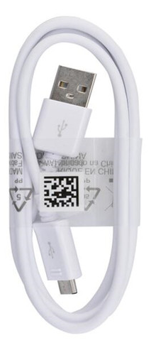 Samsung OEM Micro USB Cable - White