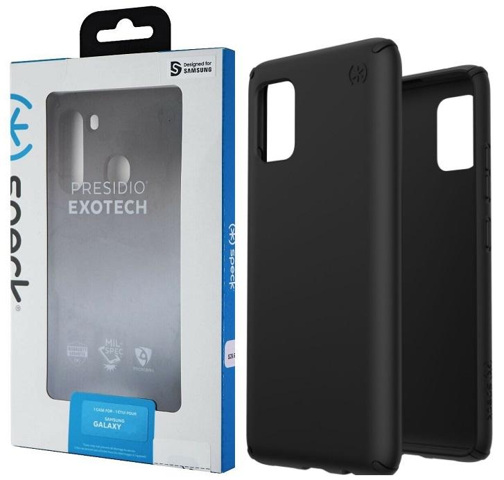 Speck Presidio Case for Samsung A71 - Black