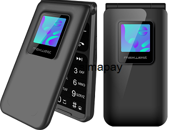 Maxwest Neo Flip LTE Black New