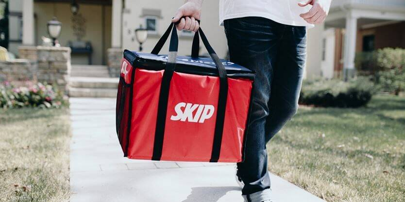 SkipDishes like food delivery app development