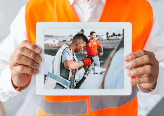 Lack of Visual Data like Photographs
