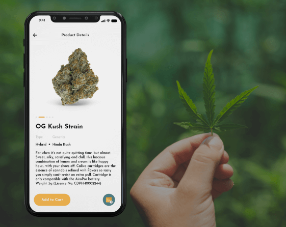 On Demand Marijuana Delivery App