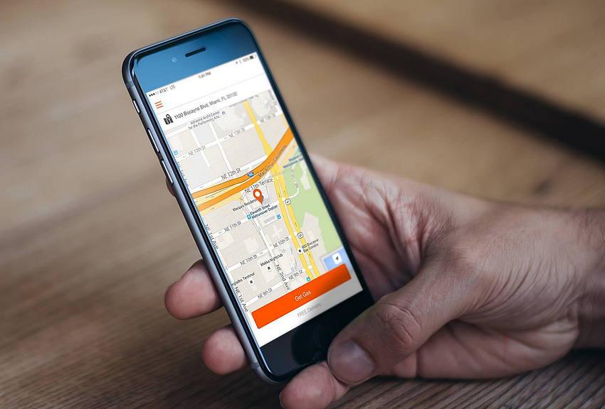 Uber for gas deliver app development