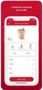 food ordering app development