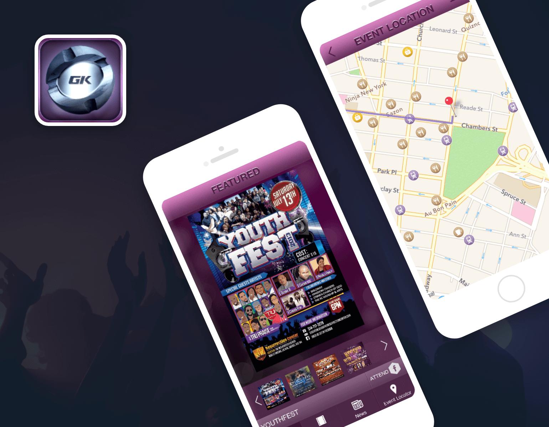GospelKinnect Mobile Event App