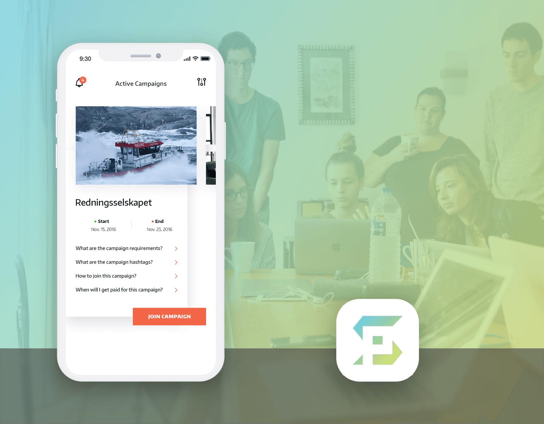 Influencer Marketing App