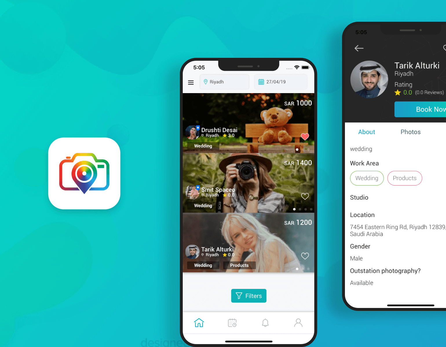On-Demand Photographer App