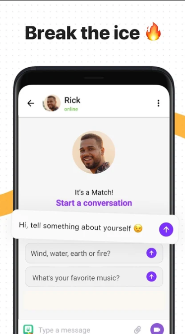 Hily dating app - icebreakers