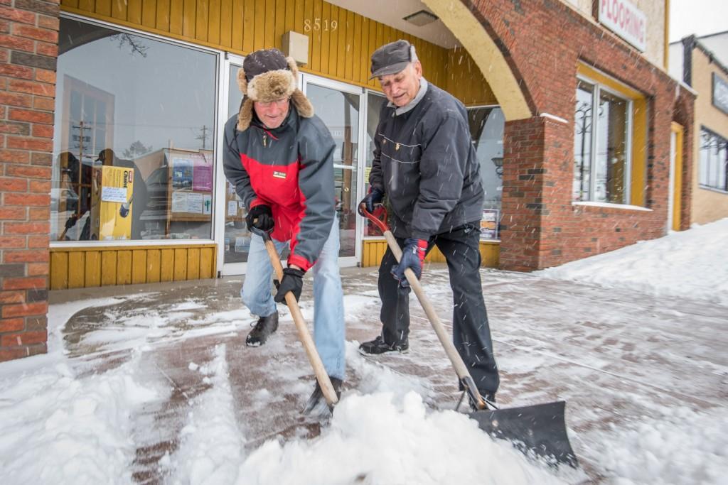 snow removal app development