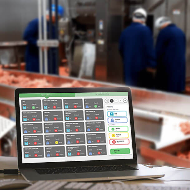 Custom Software for Meat Processing