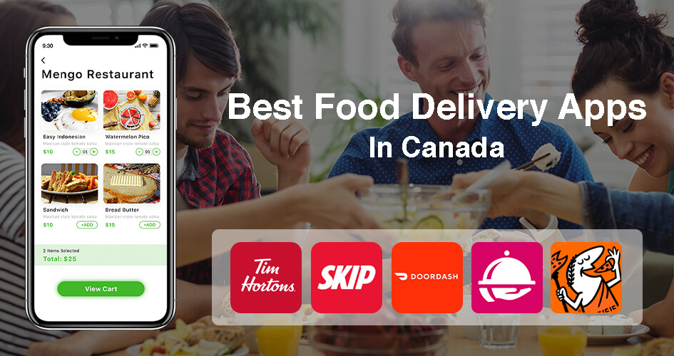 best food delivery apps in canada
