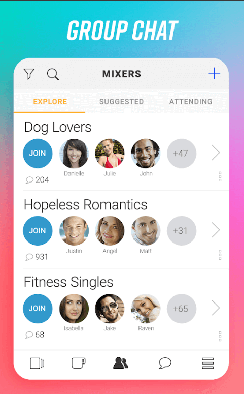create a dating app