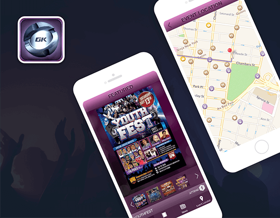 GospelKinnect Mobile Event App
