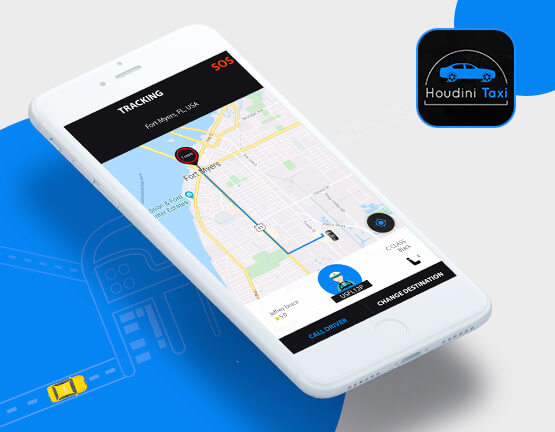 Houdini taxi app