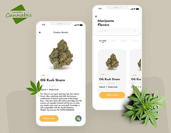 On Demand Marijuana Delivery App