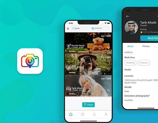 On Demand Photographer App