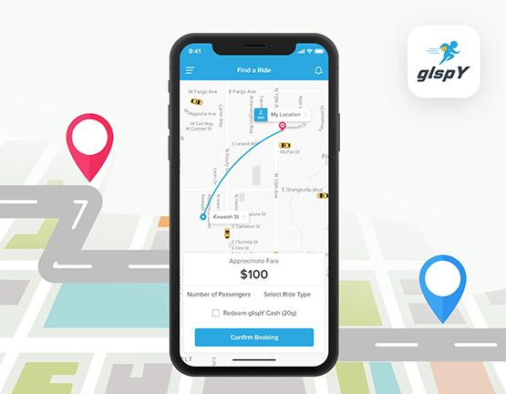 On Demand Ride Sharing App