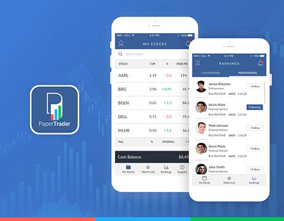 Virtual Stock Trading App