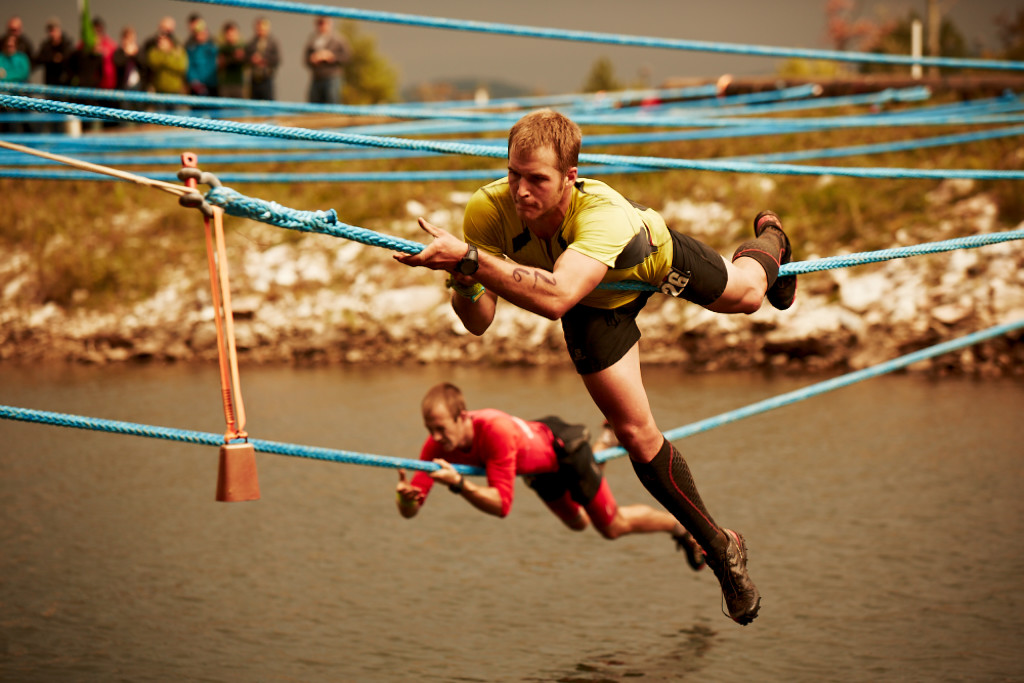 (English) Tyrolean Traverse