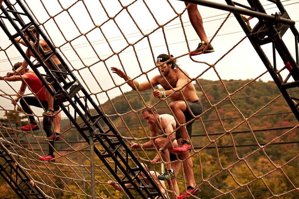 (English) Cargo Net Climb Training