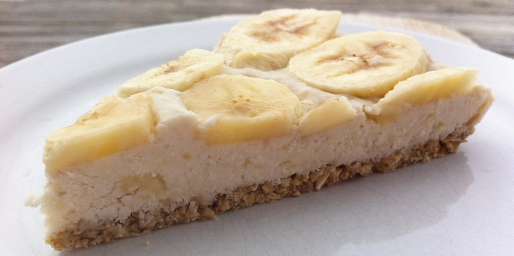 Coco Lemon Banana No-Bake Pie