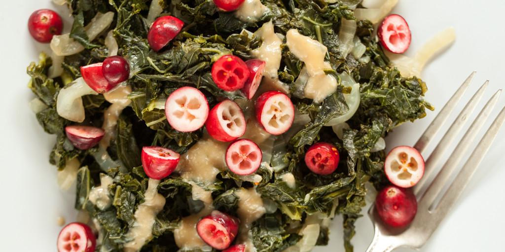 Cranberry Kale