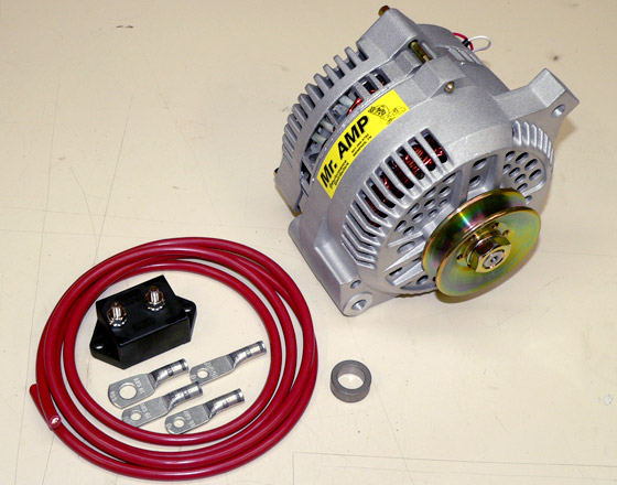 Simplify with a Mr Amp 3G Alternator FordMuscle