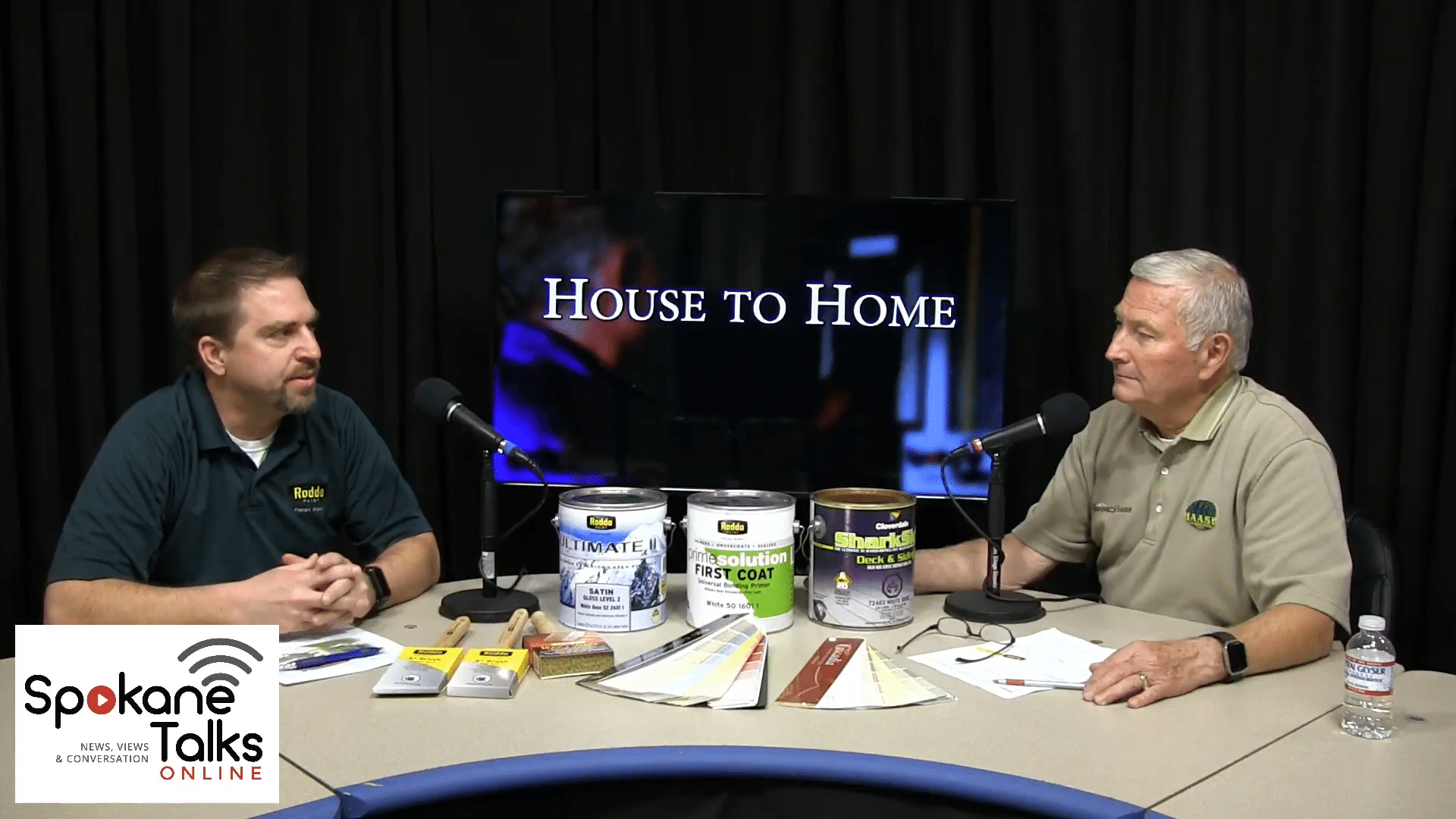House to Home with Host: Clyde Haase and Special Guest: Brad Gisolo - Spokane Talks Media