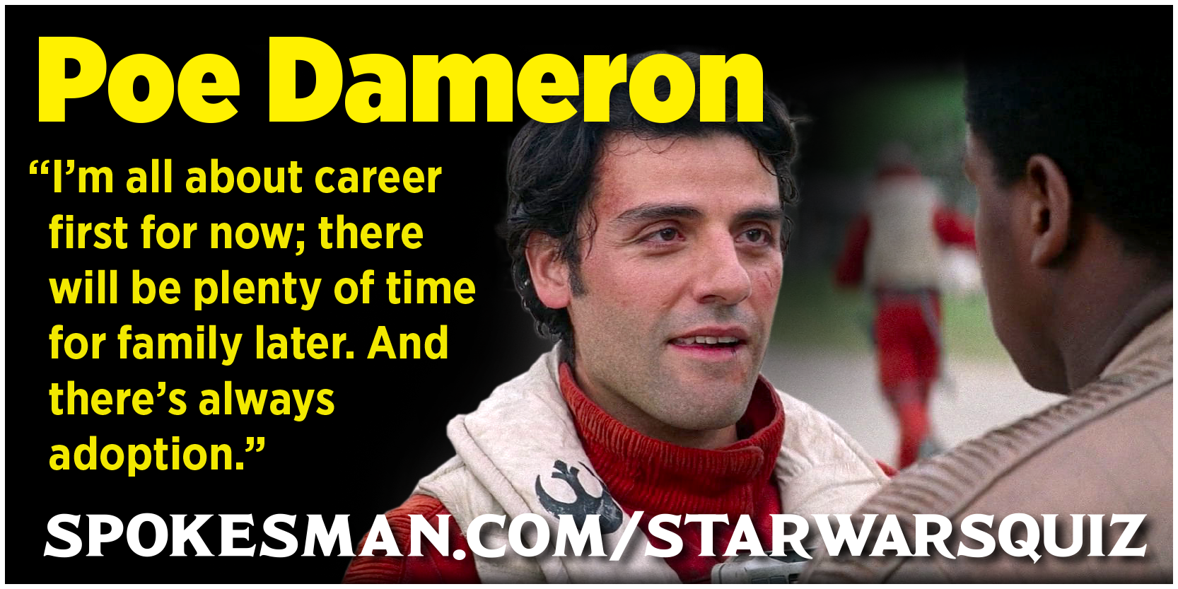 Star Wars Character Quiz The Spokesman Review