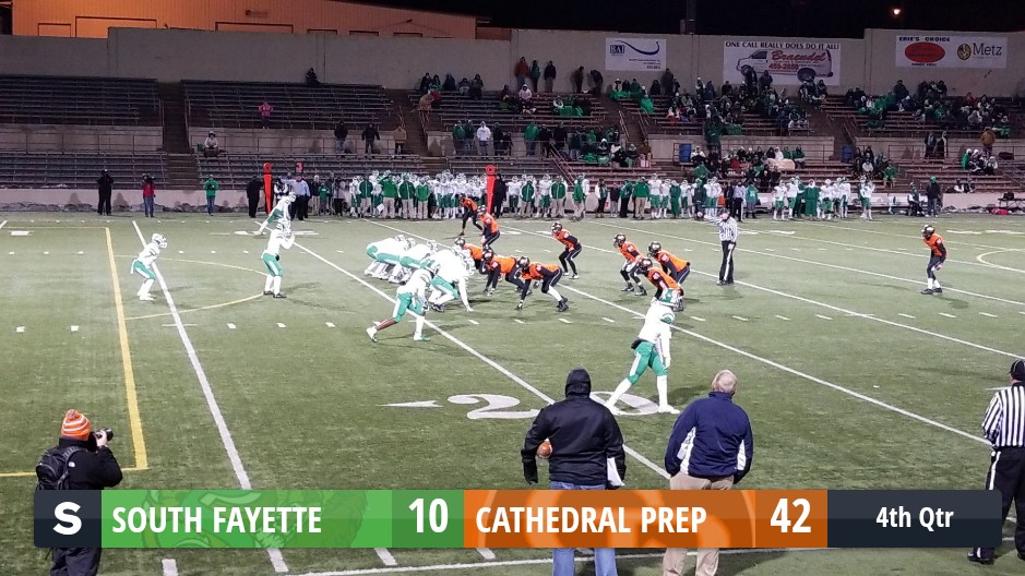 The South Fayette Lions Vs The Cathedral Prep Ramblers Scorestream