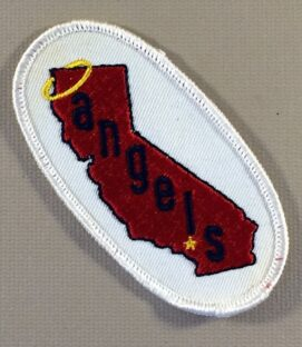 California Angels Patch